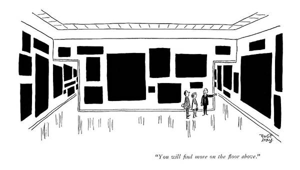 Same Drawing - You Will ?nd More On The ?oor Above by Robert J. Day