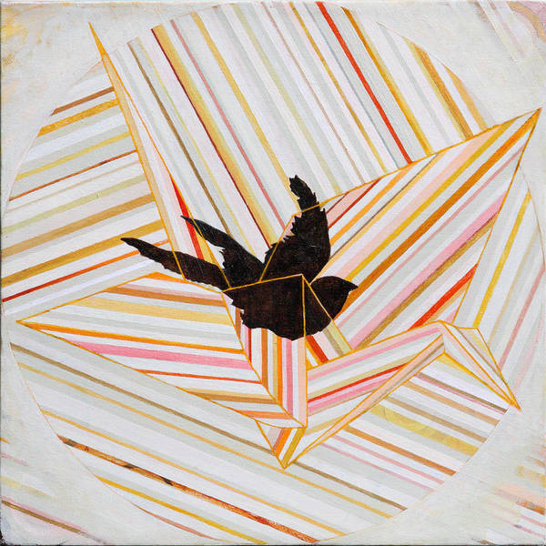 Origami Painting - You Will Never Fly by Sandra Cohen