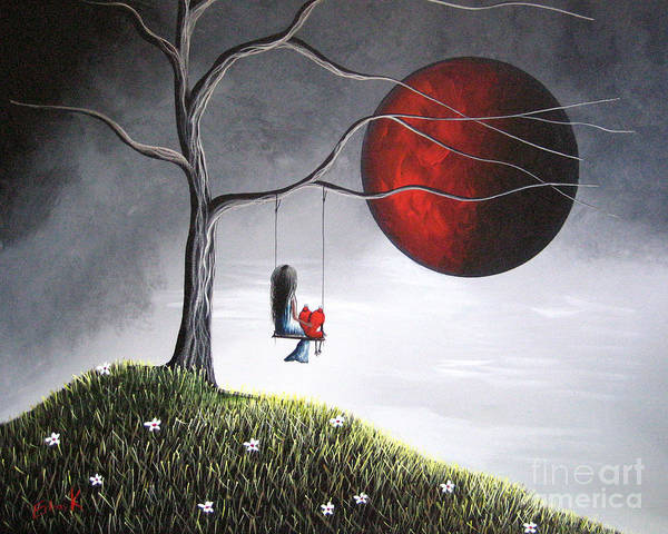 Sad Painting - You Would Have Been So Proud Of Her By Shawna Erback by Erback Art
