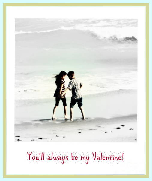 Photograph - You'll Always Be My Valentine by Susanne Van Hulst