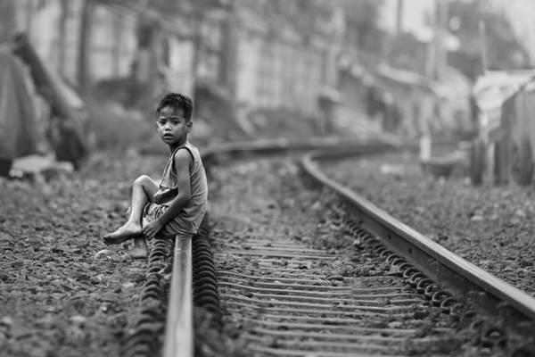 Railroads Photograph - Young And Dangerous by Gunarto Song