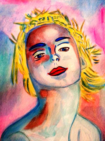 Painting - Young Ballerina by Nikki Dalton