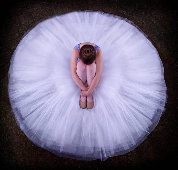 Wall Art - Photograph - Young Ballerina by Pauline Pentony Ma