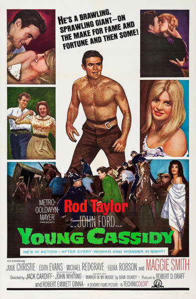Julie Christie Photograph - Young Cassidy, Us Poster Art, Rod by Everett