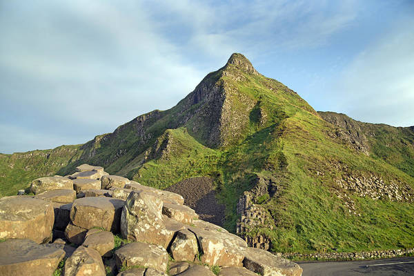Basalt Photograph - Young -- Giant's Causeway -- Ireland by Betsy Knapp