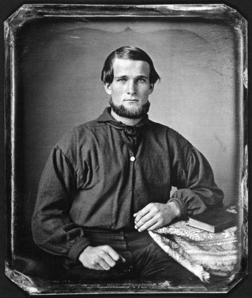 Photograph - Young Man, C1845 by Granger