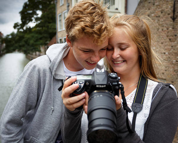 Photograph - Young Photographers by Paul Indigo