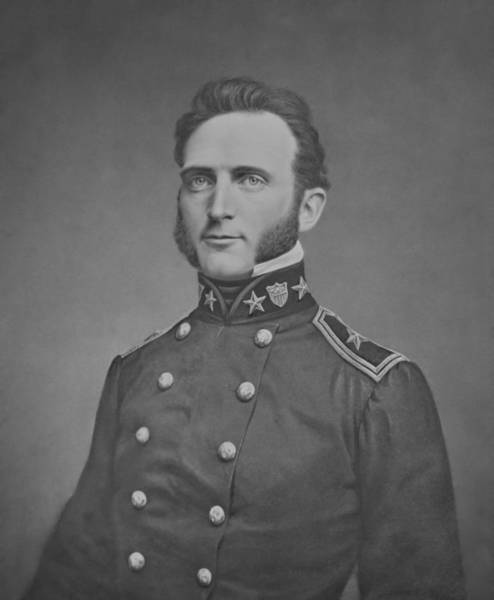 Wall Art - Photograph - Young Stonewall Jackson  by War Is Hell Store