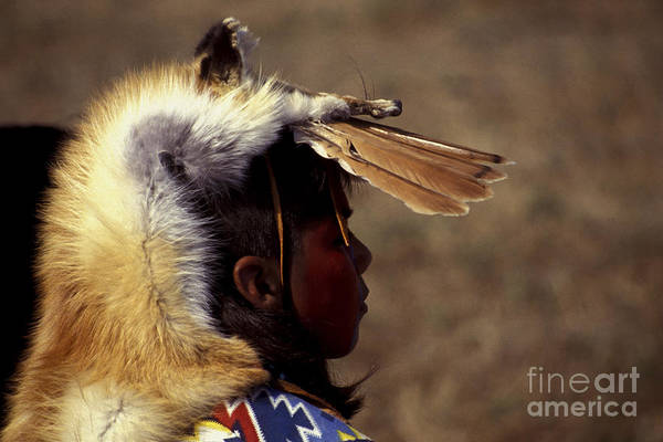 Photograph - Young Warrior by Paul W Faust -  Impressions of Light
