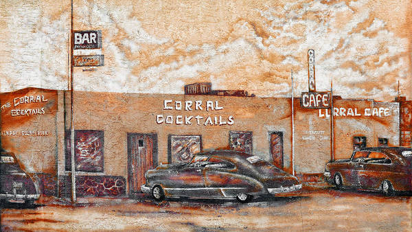 Photograph - Young's Corral - Holbrook Az - Route 66 - The Mother Road by Christine Till