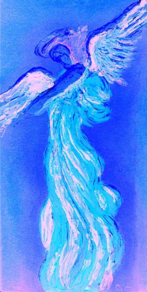 Painting - Your Angel Is Waiting II by Giorgio Tuscani