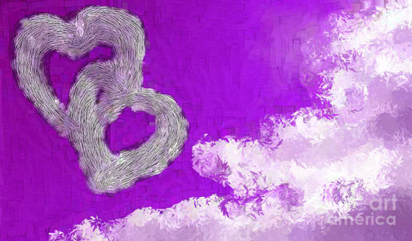 Nonprofit Digital Art - Your Body Purple by Holley Jacobs