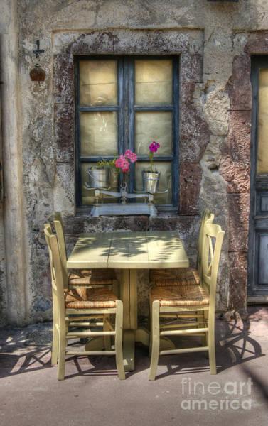 Photograph - Your Table Awaits by David Birchall