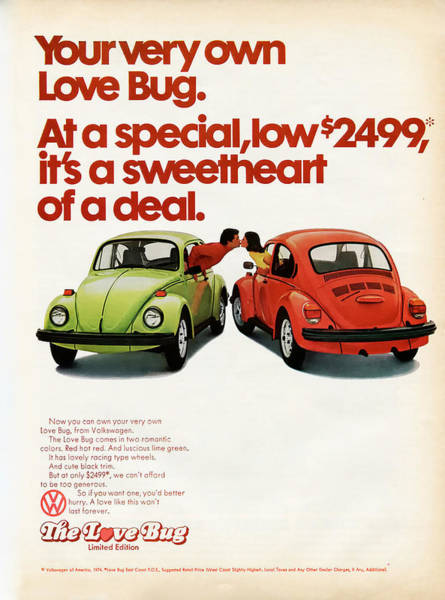 Sweetheart Digital Art - Your Very Own Love Bug by Georgia Fowler