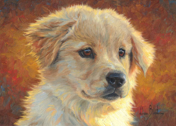 Canine Painting - Youth by Lucie Bilodeau