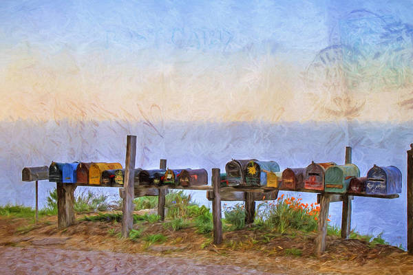 Mailbox Photograph - Youve Got Mail by Donna Kennedy
