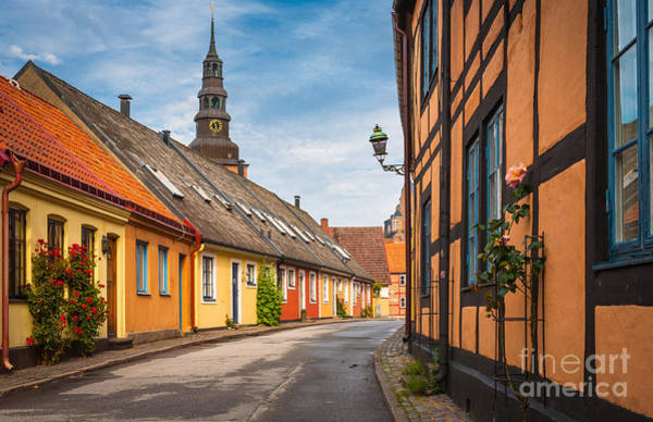 Europa Wall Art - Photograph - Ystad Street by Inge Johnsson