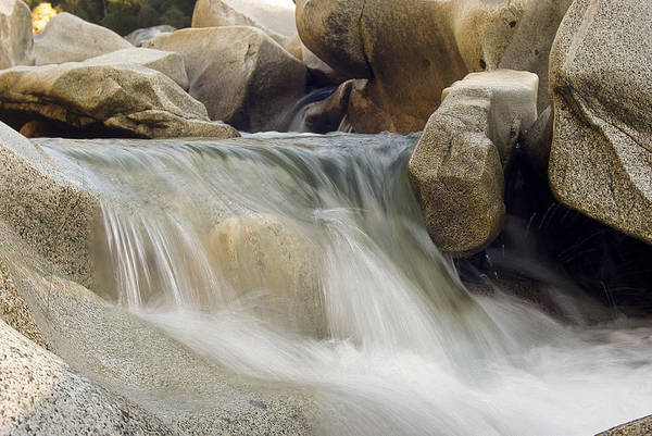 Yuba River Photograph - Yuba River Granite by Nathan Anglin