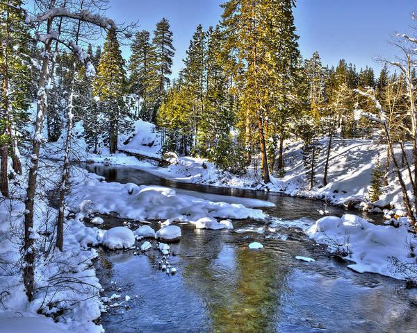 Photograph - Yuba River Kingvale Lakes by William Havle