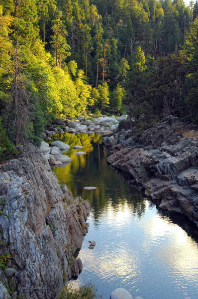 Yuba River Photograph - Yuba River Twilight by Donna Blackhall