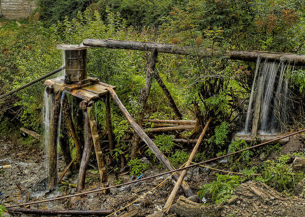 Nikon D5000 Photograph - Yubeng Water Works by James Wheeler