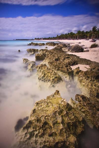 Photograph - Yucatan Coastline by Adam Romanowicz