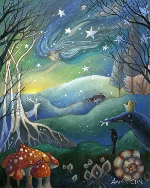 Yule Painting - Yule by Amanda Clark