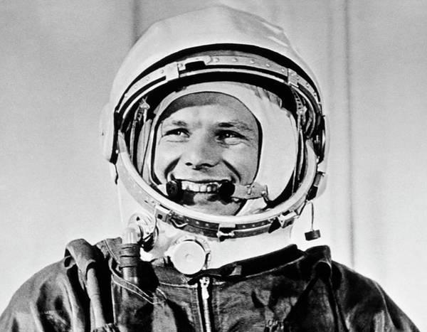 Wall Art - Photograph - Yuri Gagarin by Sputnik/science Photo Library