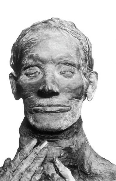 Hebrews Photograph - Yuya Mummy by Patrick Landmann/science Photo Library