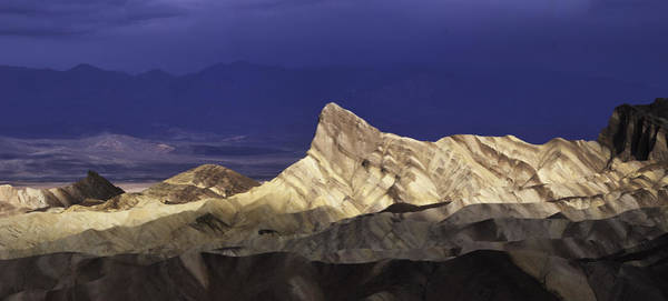 Photograph - Zabriske Point Panorama 01 by Jim Dollar