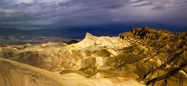 Photograph - Zabriske Point Panorama 03 by Jim Dollar