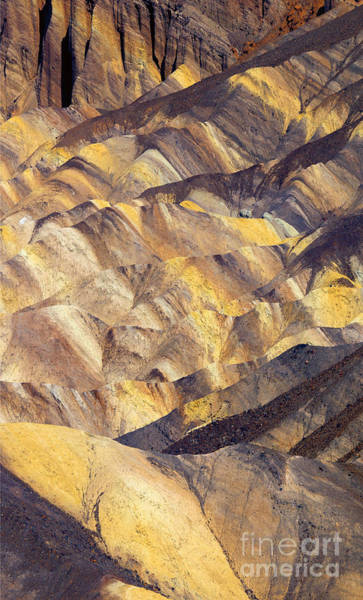 Death Valley Photograph - Zabriskie Color by Mike  Dawson