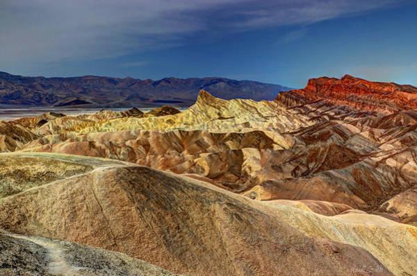 Desolation Photograph - Zabriskie Point II by Heidi Smith