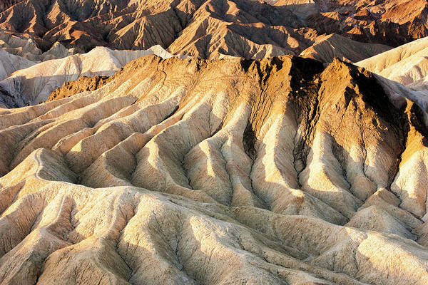 Death Valley Photograph - Zabriskie Point Overlook by Tom Norring
