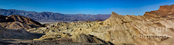 Death Valley Np Photograph - Zabriskie Point Panoramic by Jerry Fornarotto