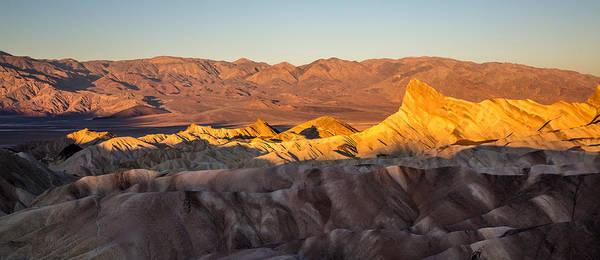 Photograph - Zabriskie Point Sunrise California by Pierre Leclerc Photography
