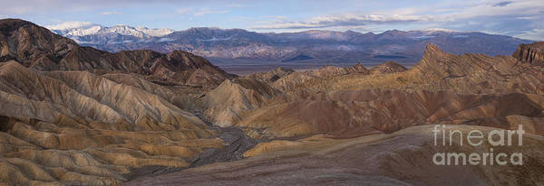 Wall Art - Photograph - Zabriskie Point Sunrise - Death Valley National Park by Sandra Bronstein