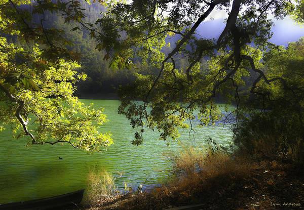 Figueroa Mountain Photograph - Zaca Lake by Lynn Andrews