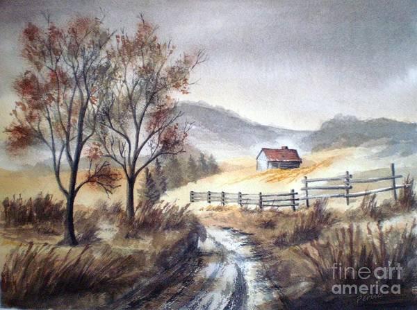 Painting - Zagorski Puteljak by Eleonora Perlic