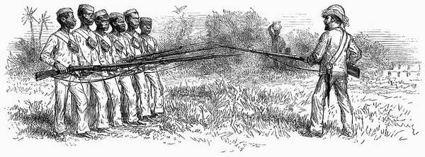 Painting - Zanzibar Soldiers, 1872 by Granger