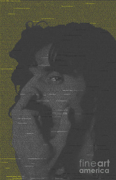 James Johnson Wall Art - Digital Art - Zappa Mosaic by James Johnson
