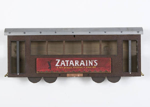 Wall Art - Mixed Media - Zatarains Street Car by Benjamin Bullins