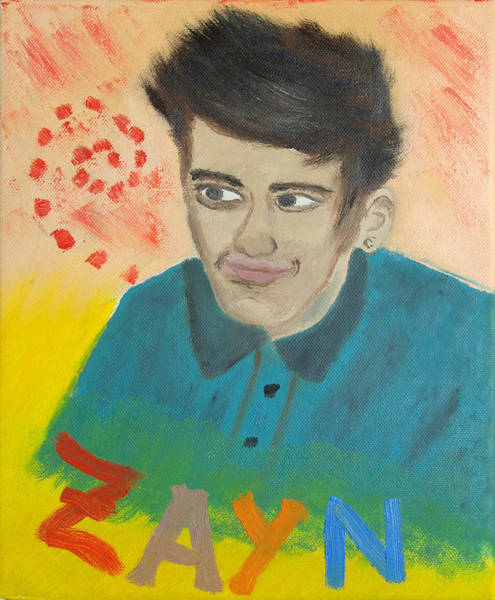 Star Formation Painting - Zayn by Peter Kallai