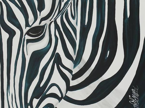Painting - Zebra by Aliya Michelle