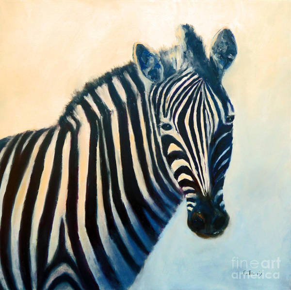 Painting - Zebra by Carolyn Jarvis