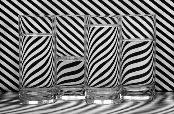 Wall Art - Photograph - Zebra Cocktails by Eleanor Bortnick