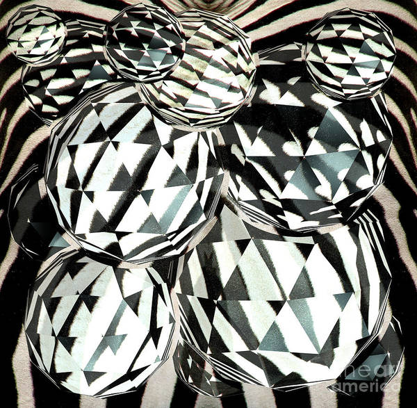Photograph - Zebra Fur Op Art by Rose Santuci-Sofranko