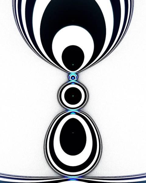 Digital Art - Zebra Jewels by Anastasiya Malakhova