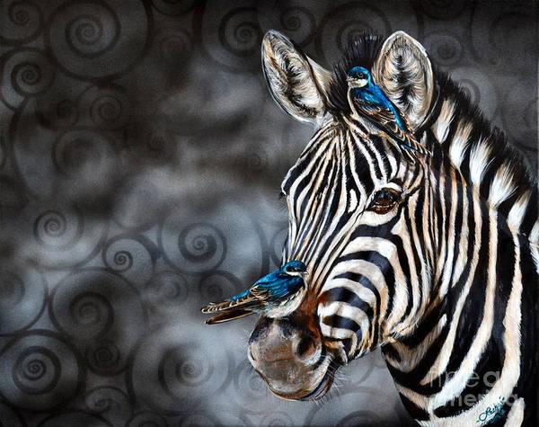Painting - Zebra by Lachri