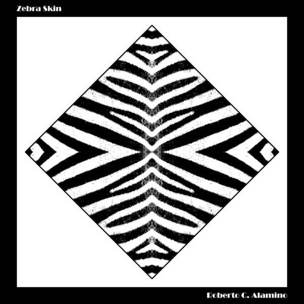 Digital Art - Zebra Skin by Roberto Alamino